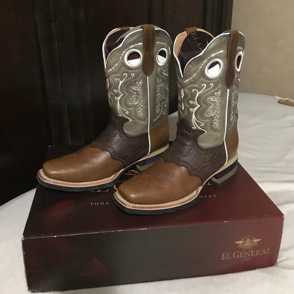 f934a0c8f3c NWT men's Cowboy boots El General NWT